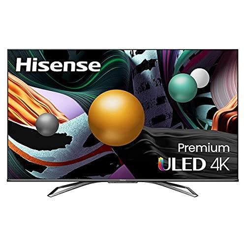 Hisense ULED Premium 55-Inch Class U8G Quantum Series Android 4K Smart TV with Alexa Compatibil…