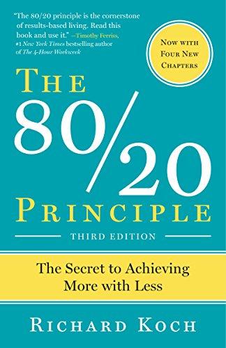 The 80/20 Principle : TOP 5 Livros sobre Produtividade || investments4life