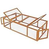 TecTake tecake 403241 Cage enclos clapier XXL à Lapins lièvre cobaye | (LxlxH)...