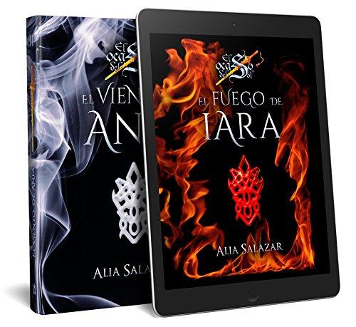 El fuego de Iara; El viento de Ania (PRIMER PACK DE DOS TOMOS DE FANTASÍA ÉPICA) (El ocaso del sol)