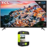 TCL 55S535 55-inch 5-Series 4K QLED Dolby Vision HDR Smart Roku TV Bundle with 1 Year Extended...
