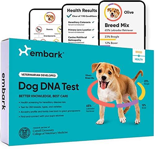 Embark | Dog DNA Test | Breed & Health Kit | Breed...