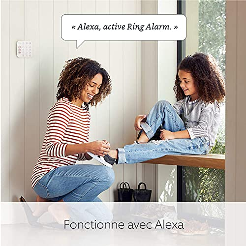 51frDKwTx1S._SL500_ [Bon plan] Ring Alarm Kit 5 pièces (2e génération) avec Ring Indoor Cam par Amazon | Système de sécurité domestique ...