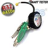 Smart tester per carica e ricarica impianti R32 ed R410a in metallo