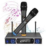 Microphone sans Fil, EIVOTOR Microphone Set Système Équipement de...