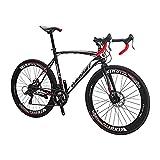 Eurobike Vélo de route 700C pour adulte pour homme et femme (XC550 54-60 mm)