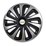 MICHELIN 009123 boîte 4 enjoliveurs 16' NVS 3D Black Edition, Noir, Set de 4