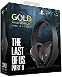 PlayStation Gold Wireless Headset: Limited Edition The Last of Us Part II, Steel Black