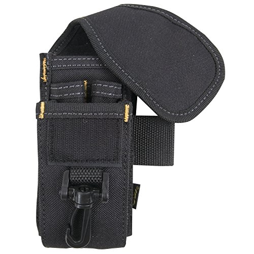 CLC Custom LeatherCraft 1105 Soporte para teléfono celular/herramienta, 5 bolsillos