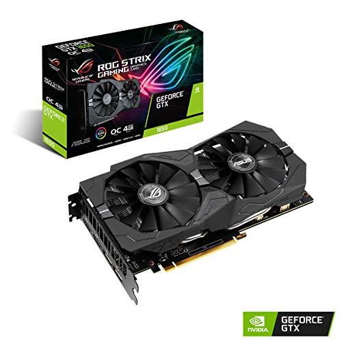 Asus ROG Strix GeForceGTX 1650 OC Edition, Scheda Video Gaming per Gaming HD, Dissipatore DirectCU II e Tecnologia AutoExtreme
