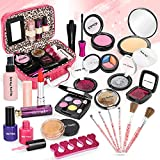 Dreamon Maquillage Jouet Petite Fille, 24PCS Malette Maquillage Jouet Lavable...