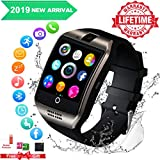 Mahipey Montre Connectée Etanche,Smart Watches for Men,Smart Watch Con Caméra Whatsapp, Bluetooth Smartwatch Compatible Andriod Huawei Sony iOS Phone pour Femmes Homme