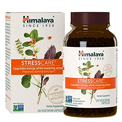 ANTI-ANXIETY AND STRESS SUPPORT: Supports adrenal function to help relax and calm your mind and body to lower stress and anxiety. WISE CHOICE FOR NON-DROWSY STRESS SUPPORT: Helps provide even energy and vitality throughout the day and restful relaxat...
