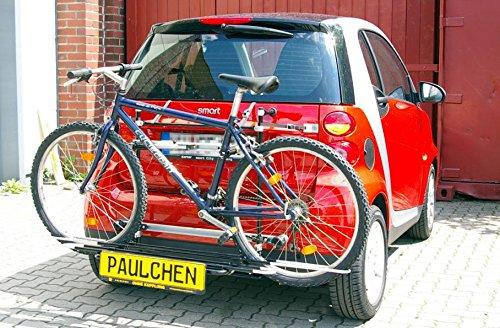 Portabici Comfort due biciclette Smart Fortwo 451Coupe