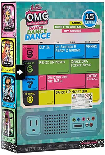 Image 3 - Poupée Mannequin LOL Surprise OMG Dance Dance Dance B-Gurl avec 15 Surprises, vêtements stylés, Lumière noire Magique, Accessoires, Chaussures, Socle, Pack TV. Pour fille de 4 ans et plus