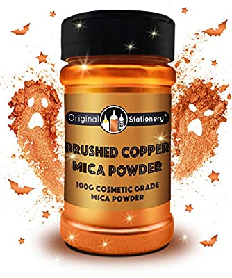 Amazing for arts and crafts – An unbelievably Cosmic Copper color. Perfect for all types of crafts and home decorations. Plus, use it to make multicolored bath bombs, DIY soap, slime kits, kintsugi. Absolutely no limit on what you can do. Purest high...