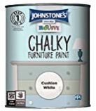 Image of Johnstone's 386500 Revive Chalky Furniture Paint, Cushion White