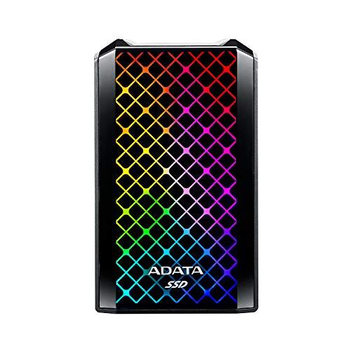 ADATA SE900G 1 TB SSD, schwarz, USB-C 3.2 Gen 2x2 (20 Gbit/s)