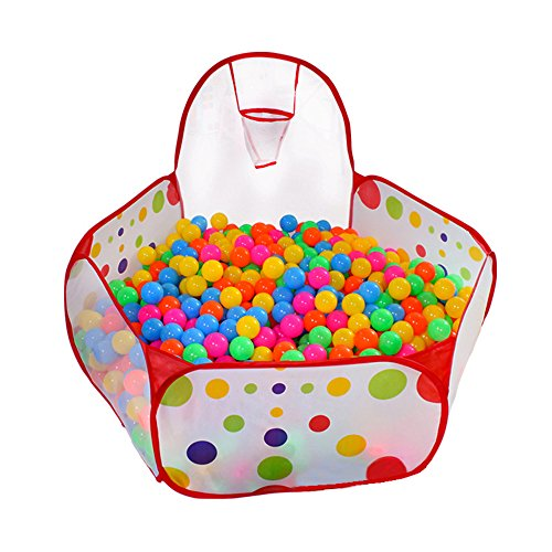 KUUQA Ball Pit Play Tent with Basketball...