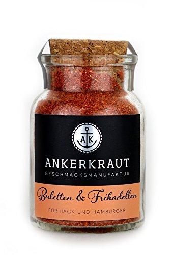 Ankerkraut Buletten & Fleischpflanzerl, Frikadellen & Hack, 100g im Korkenglas