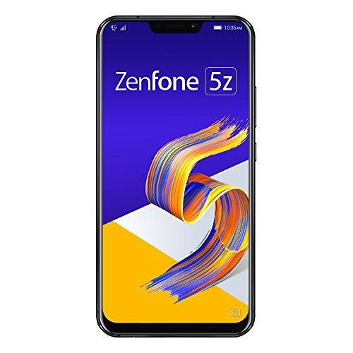 ASUS ZenFone 5Z 【日本正規代理店品】 6.2インチ / SIMフリースマートフォン/シャイニーブラック (6GB/128...