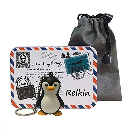 relkin unidad flash USB de alta velocidad USB 2.0Memory Stick regalo Cartoon peces pingüino 32 gb