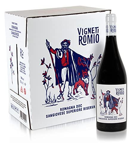 Vigneti Romio Romagna DOC Sangiovese Superiore Riserva - Confezione da 6 bottiglie