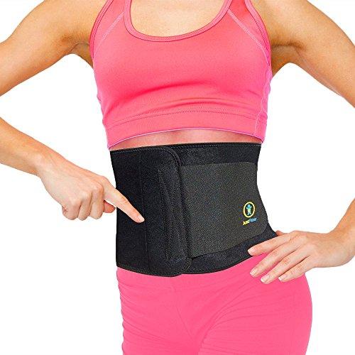 Best Premium Waist Trainer & Trimmer Ab Sweat Belt For Men &...