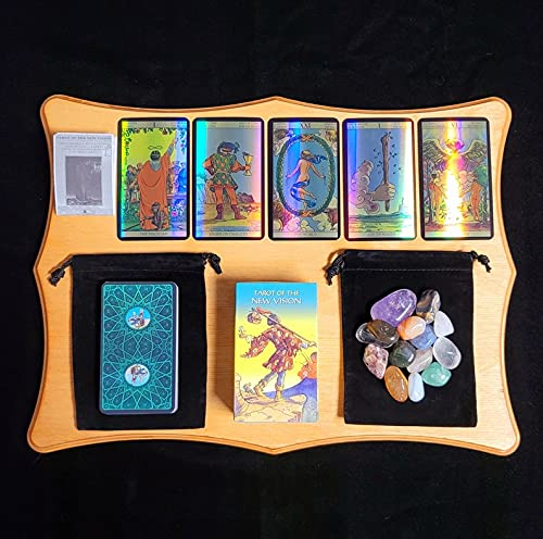 Holographic Tarot of The New Vision Deck & Instruction...