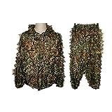 Tenue Camouflage Ensemble Veste à Capuche et Pantalon Camouflage avec 3D Maple...