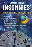 Carnet de suivi INSOMNIES :livre sur le sommeil pour enfant-livre sur le sommeil...