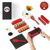 Le Sushi Maker AYA - Appareil et Moules à Sushi - Kit de Préparation...