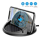 Beeasy Chargeur sans Fil Voiture,Support Chargeur Induction Voiture pour...