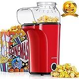Machine à Pop Corn, AICOOK 1400W Retro Popcorn Machine, 16Cups Grande...