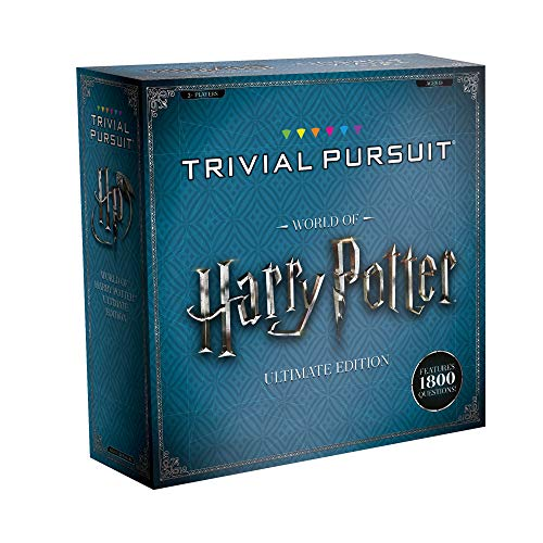 USAOPOLY Trivial Pursuit World of Harry Potter Ultimate Edition | Trivia Board Game Based On Harry...