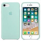 Coque pour iPhone 7/8,Coque Silicone Liquide avec Doux Microfibre Coussin...