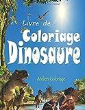 Livre de Coloriage Dinosaure: 40 Dessins Réalistes de Dinosaures pour...