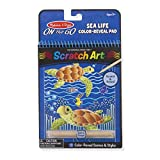 Melissa & Doug Sea Life Color-Reveal Scratch Art Activity Pad