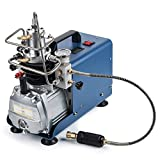 Orion Motor Tech High-Pressure Electric Air Compressor Pump, 4500 PSI/30 MPa /300 BAR Air Pump Air Rifle PCP Airgun Paintball Fill Station for Fire Fighting and Diving