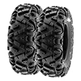 SunF 26x8-12 26x8x12 ATV UTV Tires 6 PR Tubeless A033 POWER I [Set of 2]