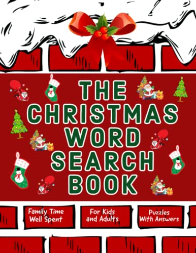 The Christmas Word Search Book: Fun for Kids and Adults