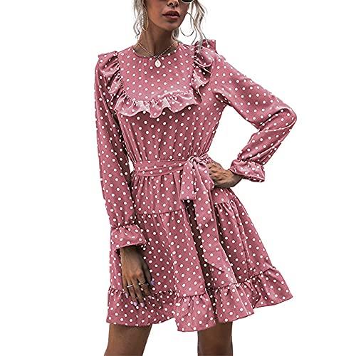 OtoñO/Invierno Moda Casual para Mujer Cuello Redondo Estamp