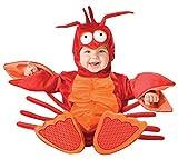 Lil' Lobster Infant/Toddler Costume Red