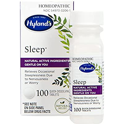 RELIEF OF OCCASIONAL NIGHTTIME SLEEPLESSNESS SYMPTOMS: Temporarily relieves the symptoms of occasional nighttime sleeplessness and wakefulness due to nervousness, anxiousness, or worry EASY TO TAKE HOMEOPATHIC MEDICINE: Quick-dissolving tablets that ...