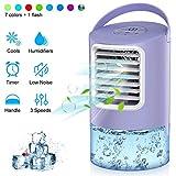 Climatiseur Portable, Mini Refroidisseur D'air Portable Ventilateur de...