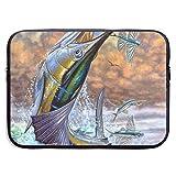Estuche para portátil Tuna, Resistente al Agua y Plegable, maletín de Neopreno para portátil, Estuche de Viaje Suave para Tableta, 13 Pulgadas