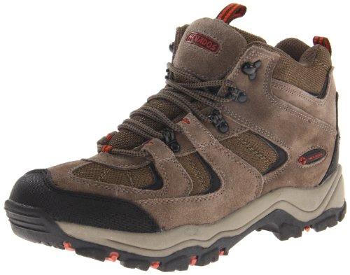 Nevados Women's Boomerang II Mid V1082W Hiking Boot,Dark Brown/Black/Light Purple,6.5 W US
