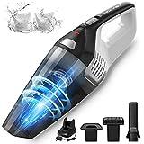 Homasy Handheld Vacuum Cordless, 8Kpa Hand Vacuum with Powerful Cyclonic...