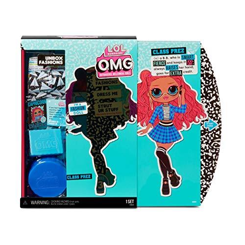 Image 5 - LOL Surprise Poupées mannequins collectionnables pour filles – Avec 20 surprises et accessoires - Class Prez - OMG Series 3