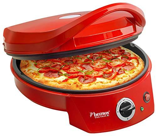 Bestron Forno elettrico per pizza con grill, Viva Italia, Calore superiore e inferiore, Fino a 180C,...